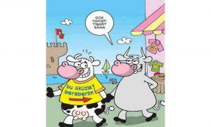 ünlü Isimlerden Güldüren Karikatürler Bağlantı Noktası Dergisi