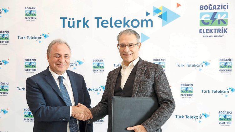 Ck Boğaziçi Elektrik Müşteri İşlem Merkezleri'nde, Türk Telekom'un İnternet Ürünleri De Sunulacak