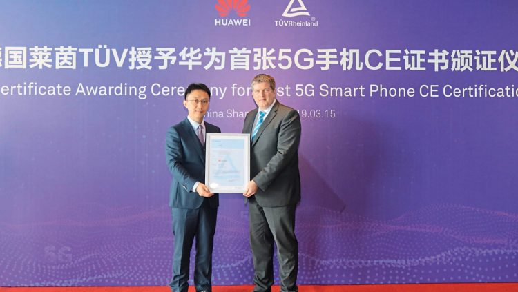 Huawei Mate X, Dünyanın İlk 5G Ce Sertifikasyonunu Aldı