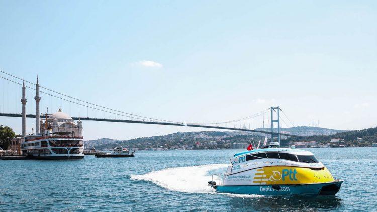 PTT AŞ'den Denizde De Ulaşılabilir Hizmet