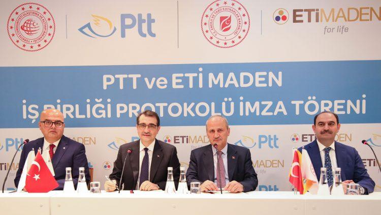 Eti Maden Ürünleri PTT Güvencesi İle Dünyaya Ulaşacak