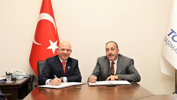 Türkiye'ye gelen ERASMUS öğrencilerinin taşınmasına ilişkin protokol imzalandı