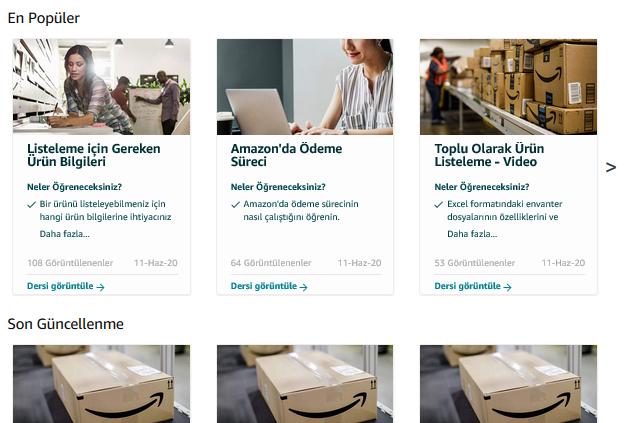 Amazon Türkiye'den KOBİ'leri dijitalleştiren Satıcı Eğitim Programı