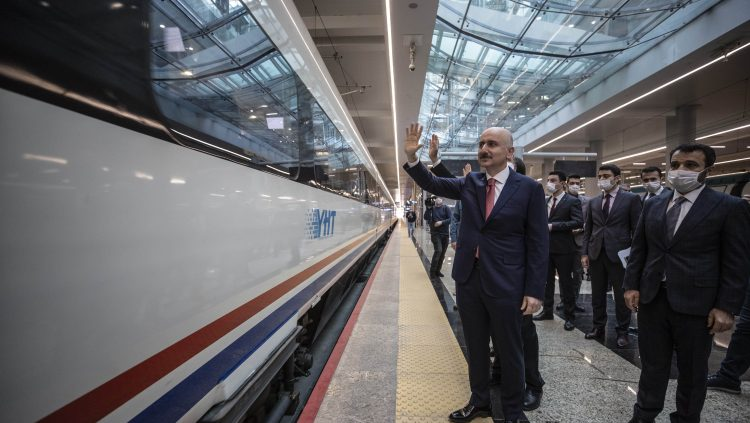 Demiryolu Taşımacılığı %20 Seviyesine Çıkacak