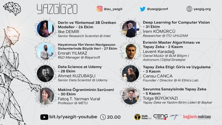 YAZGİG'20 Online, 26 Ekim-5 Kasım'da Sizlerle Olacak