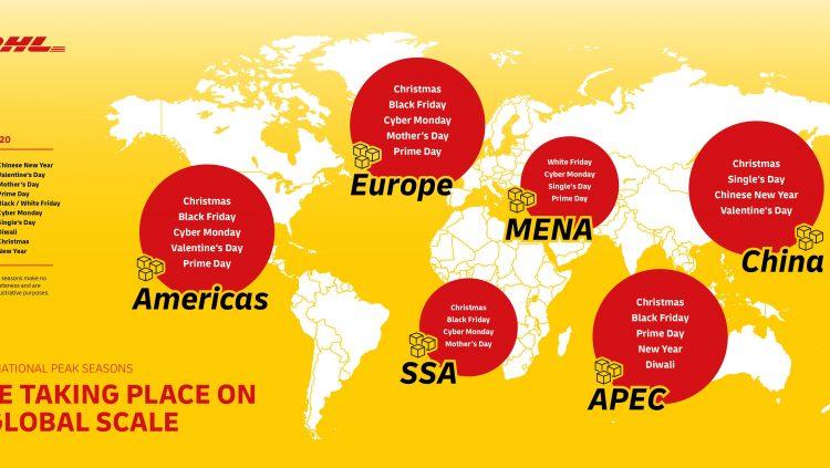 DHL Express, Global E-ticarette Tarihi Zirve Bekliyor