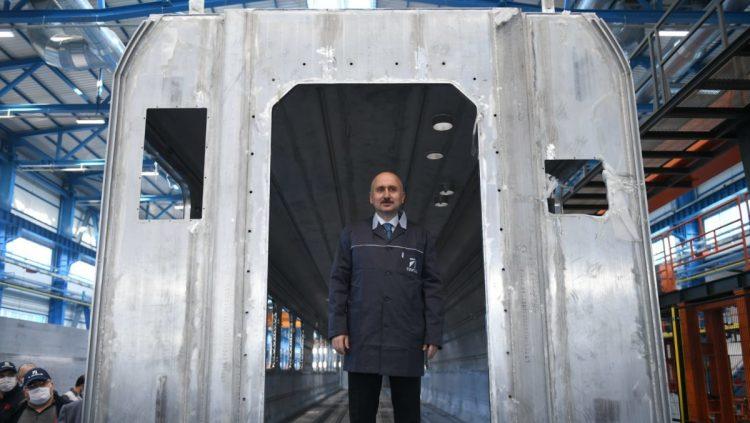 Milli Elektrikli Tren Seti Üretimi Başlıyor