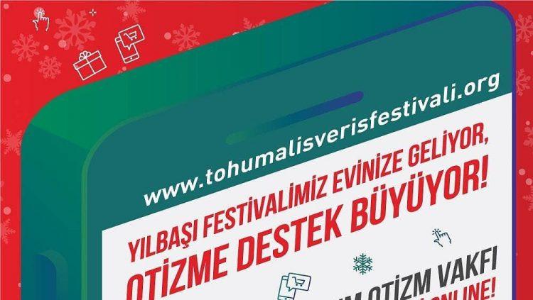 """Tohum Otizm Vakfı """"Online"""" Yılbaşı Alışveriş Festivali Başladı!"""