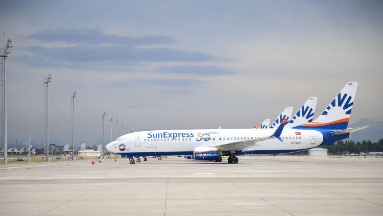 SunExpress, Uçuş Öncesi Antijen Testi Denemelerine Başladı