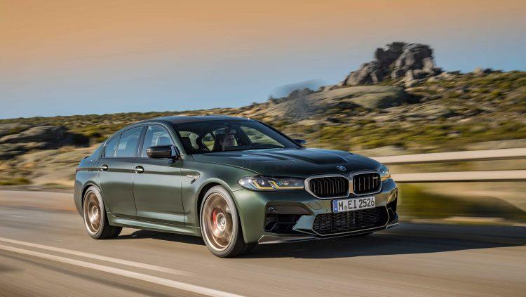 Yeni BMW M5 CS Türkiye'de