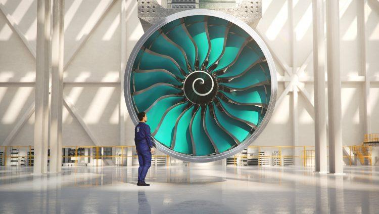 Rolls-Royce, Dünyanın En Büyük Uçak Motorunu Yapıyor